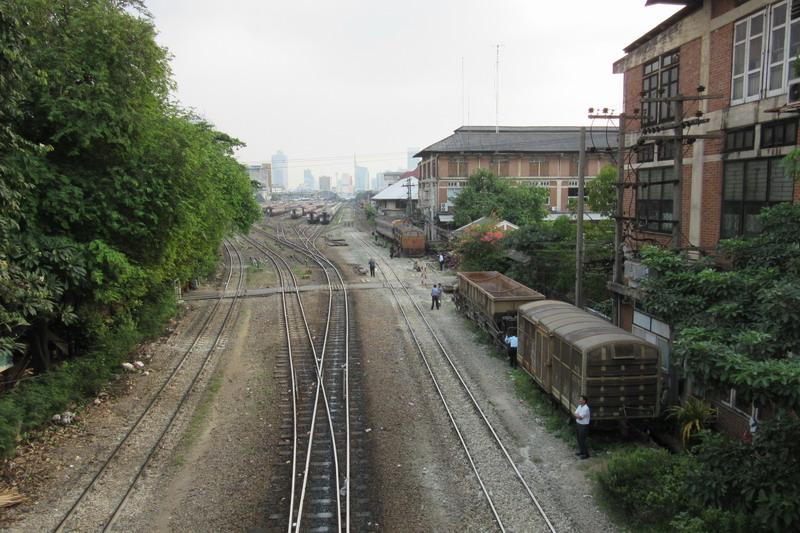 Бангкок, железная дорога