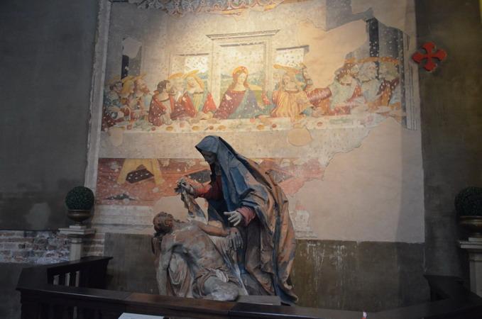 Милан. Базилика Сан-Лоренцо