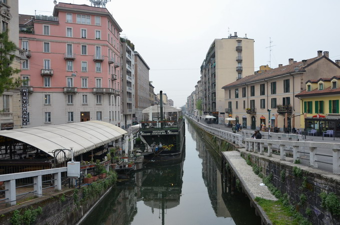 Милан. Навильи. Павийский канал