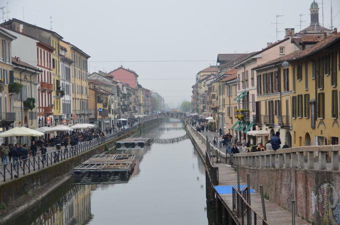 Милан. Навильи. Большой канал