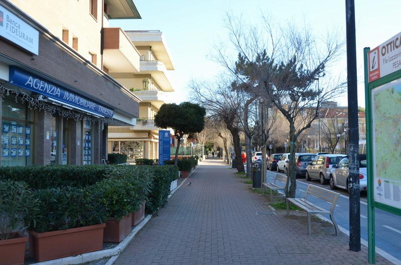 Пезаро, центральная улица