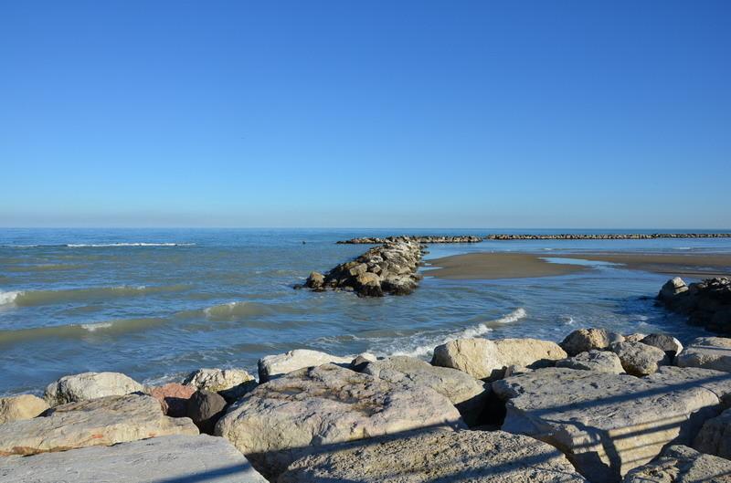 Пляж в Пезаро