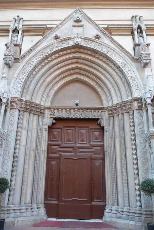 Пезаро, церковь Сант-Агостино