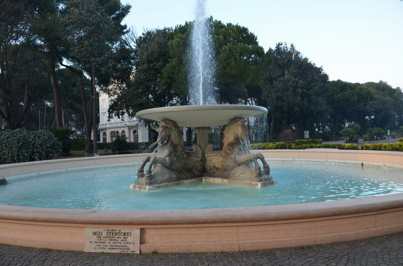 Римини, парк Феллини