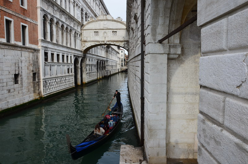Венеция Мост Вздохов