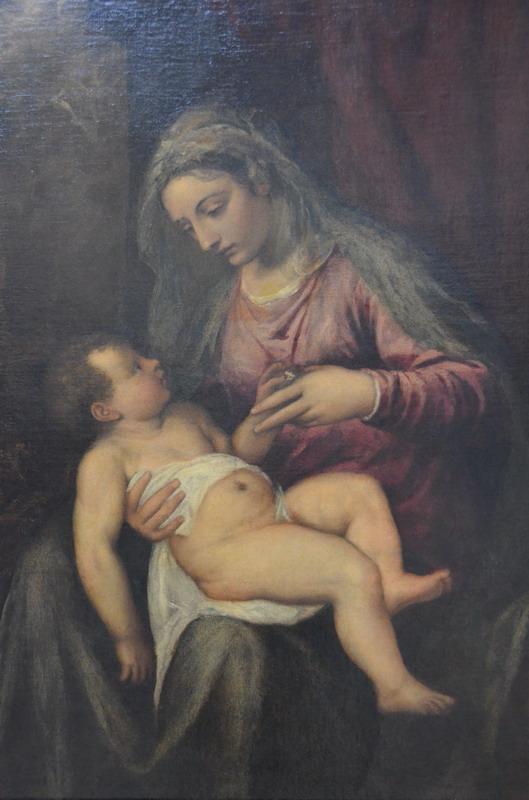 Тициан Мадонна с ребенком