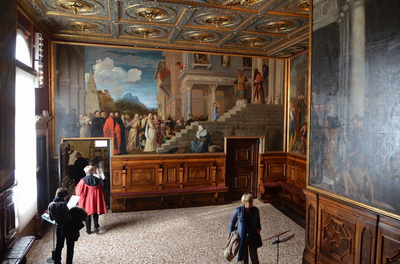 Венеция, в Галерее Академии