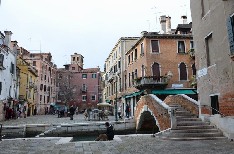 Венеция, площадь