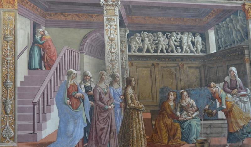 Фрески Гирландайо в Мария Новелла
