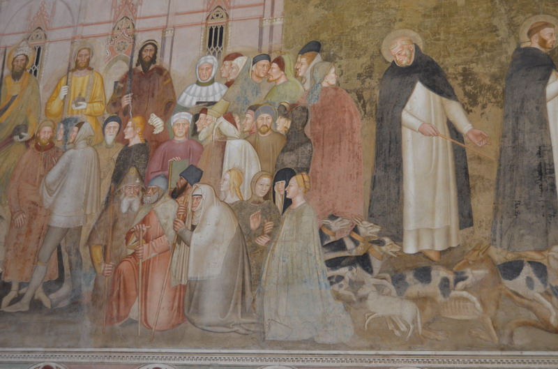 Церковь Санта-Мария-Новелла, фрески