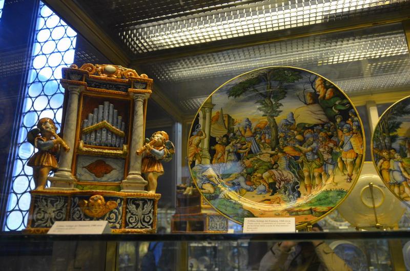 Барджелло, в залах музея