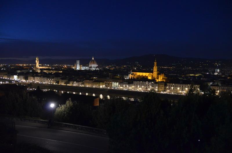 Вид на Флоренцию с пьяцца Микеланжело