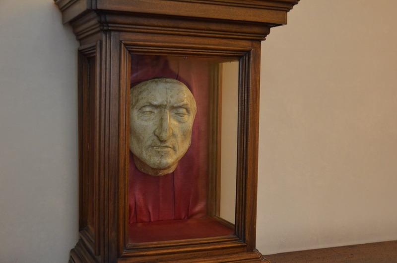 Посмертная маска Данте