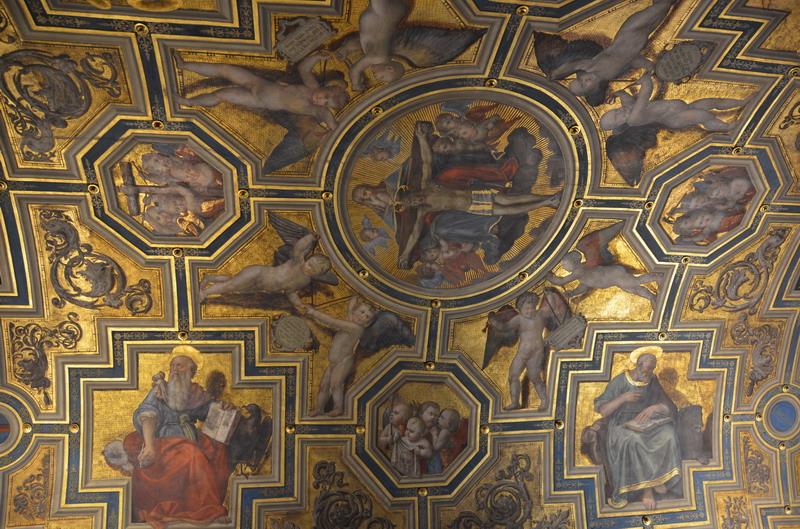 Палаццо Веккьо, потолки