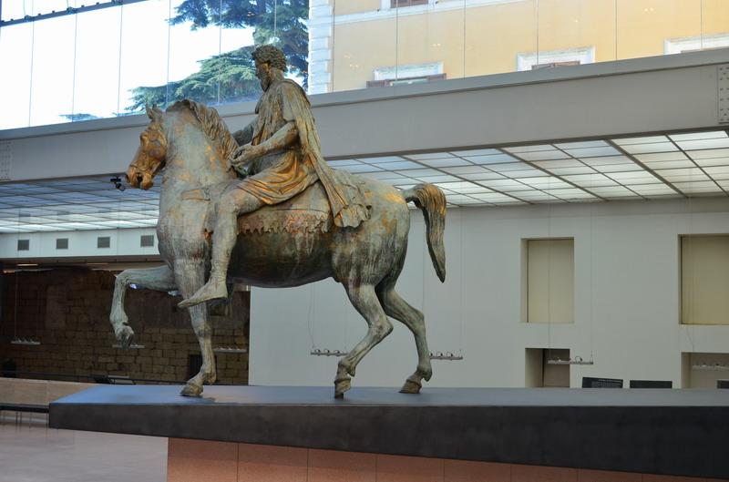 Конная скульптура Марка Аврелия