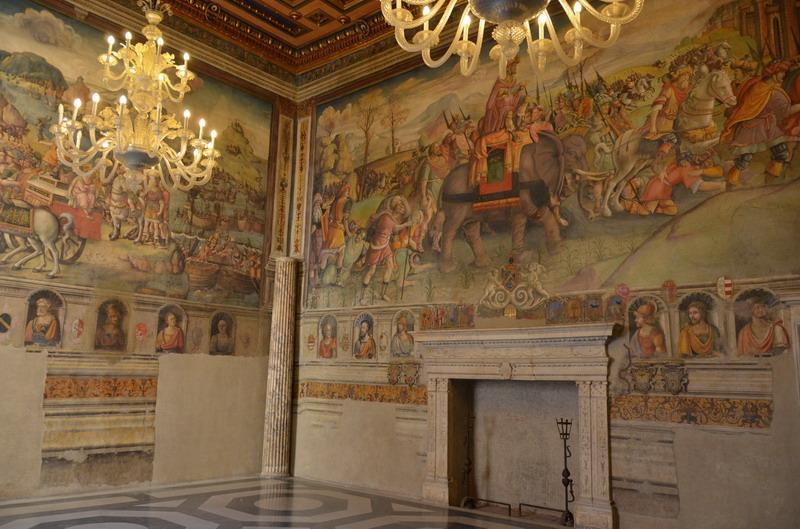 Капитолийские музеи, один из залов