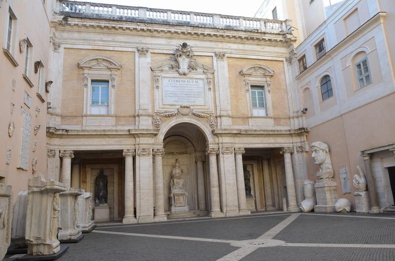 Капитолийские музеи, кортиль
