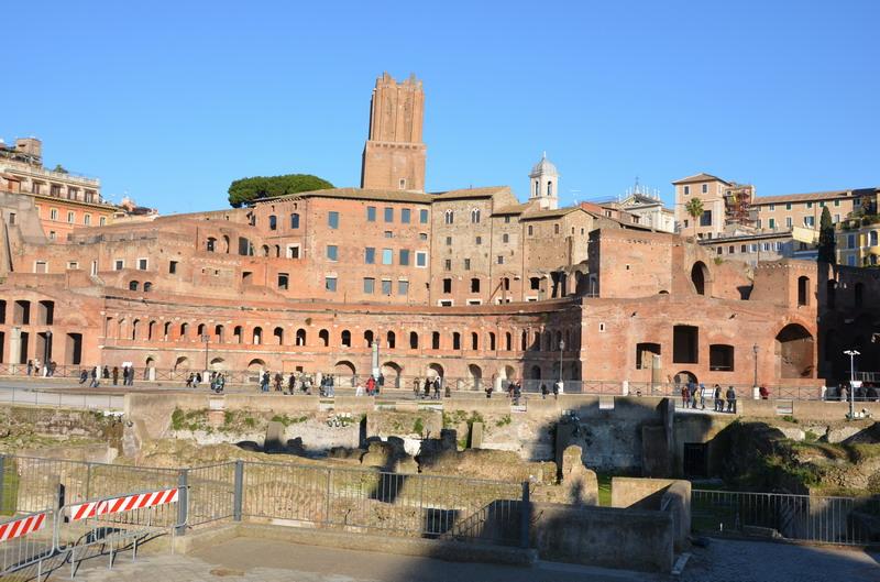 Императорские форумы, форум Траяна