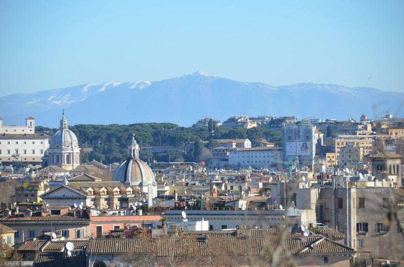 Виды Рима с холма Яникул