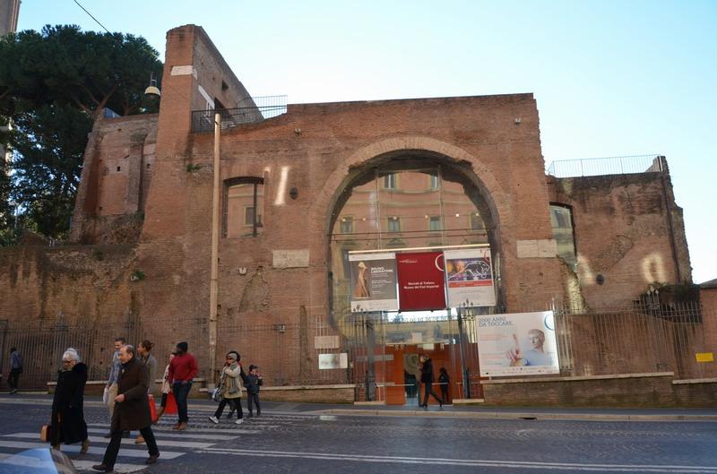 Вход в музей Императорских форумов