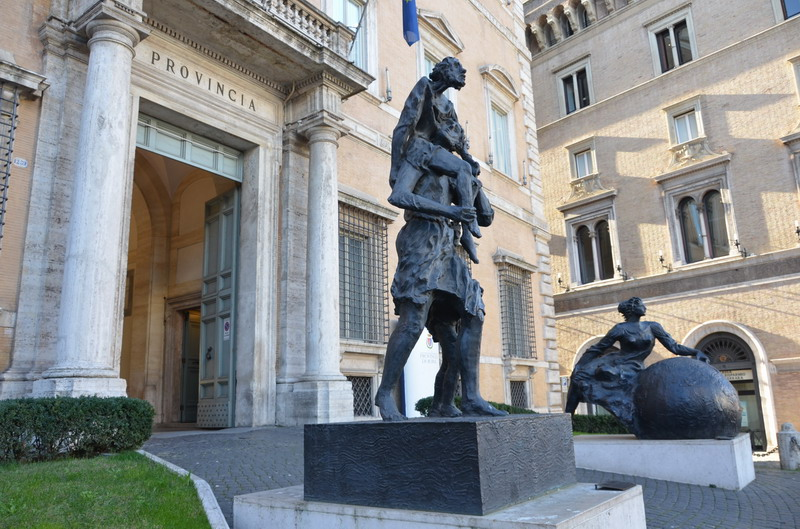 Рим, Современная скульптура
