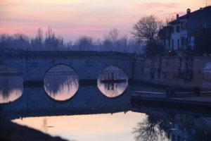 Римини зимой