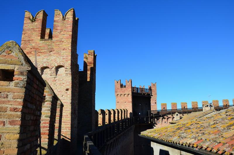 Градара, крепостные стены