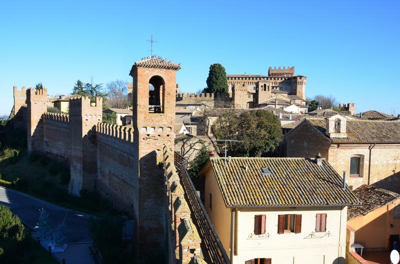 Градара, крепость