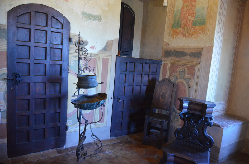 Градара, комната Лукреции Борджиа