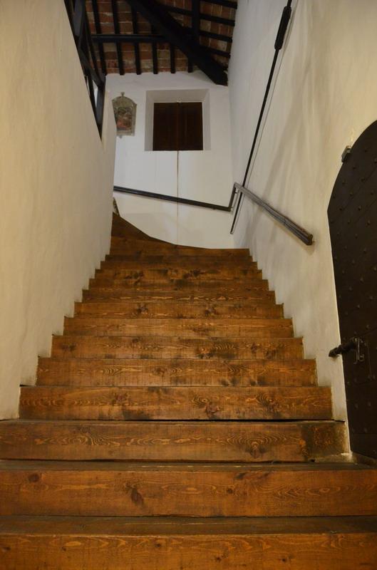 Лестница в замке