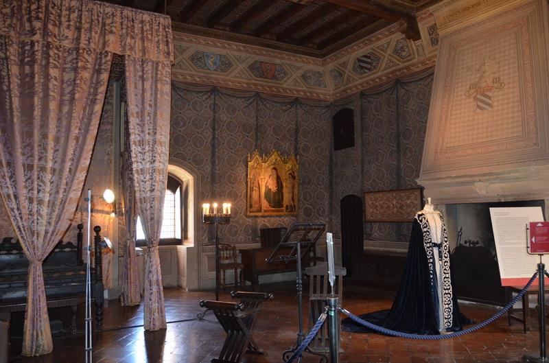 Градара, замок, комната Франчески