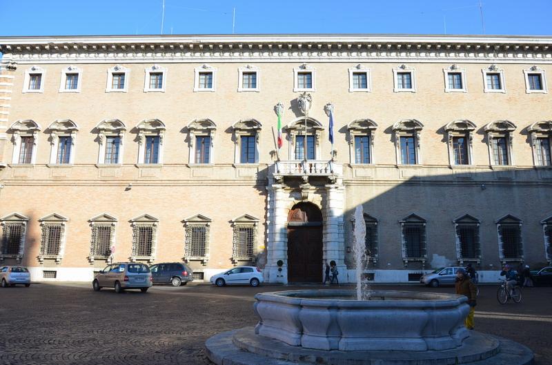 Форли, дворец Галеано