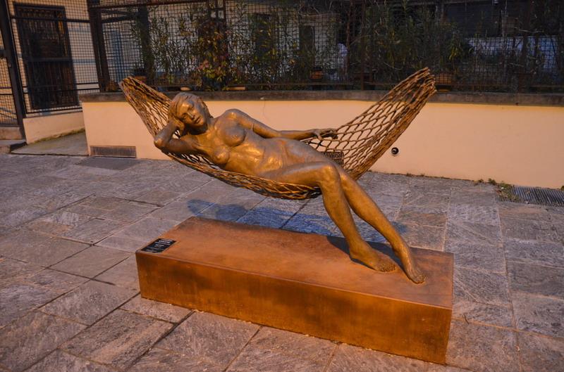Чезена, скульптура Леонардо Лукки