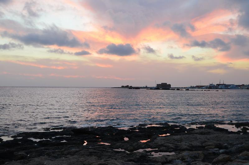 Пафос, гавань и портовая крепость