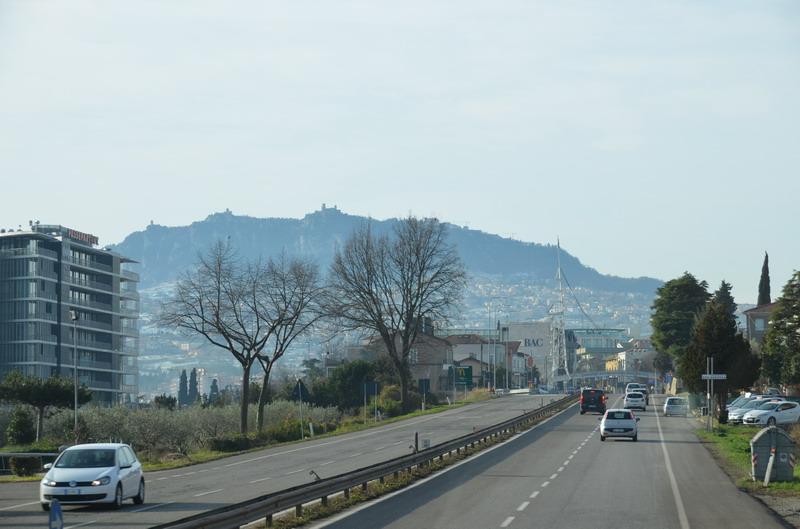 Гора Титано, республика Сан-Марино
