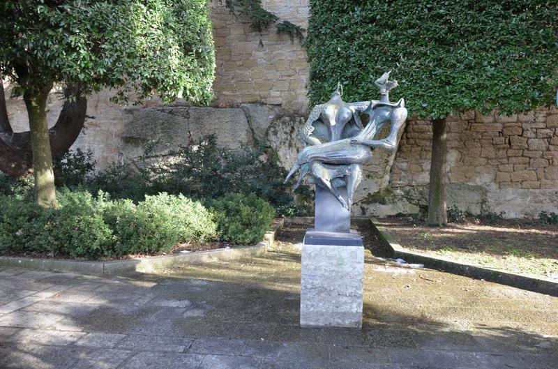 Скульптуры у карьера Арбалетчиков