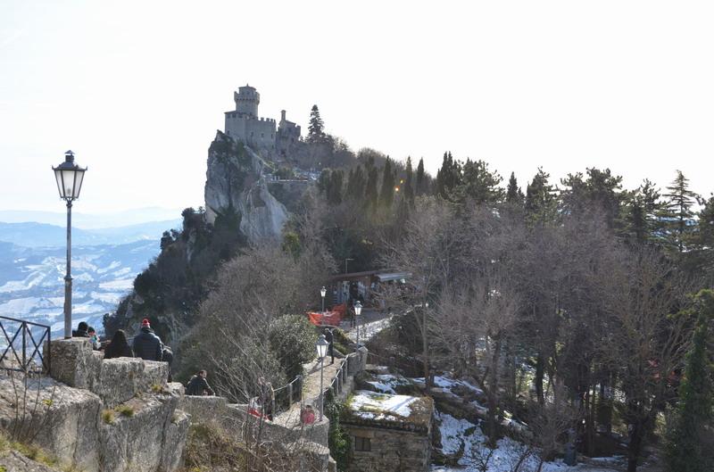 Ла Честа, вторая башня Сан-Марино