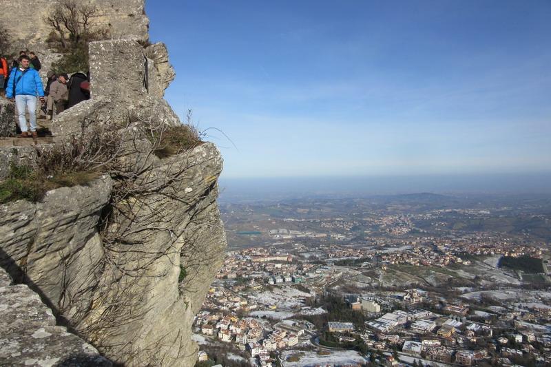 Гора Титано