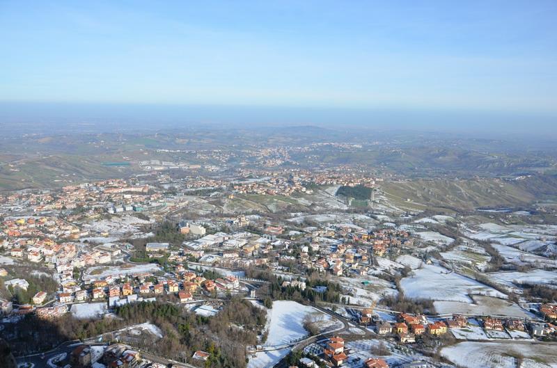 пейзажи вокруг Сан-Марино