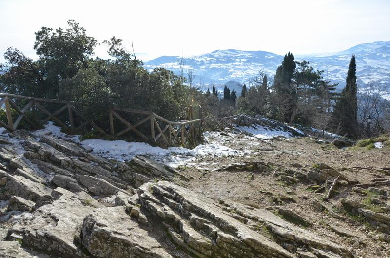 зимний Сан-Марино