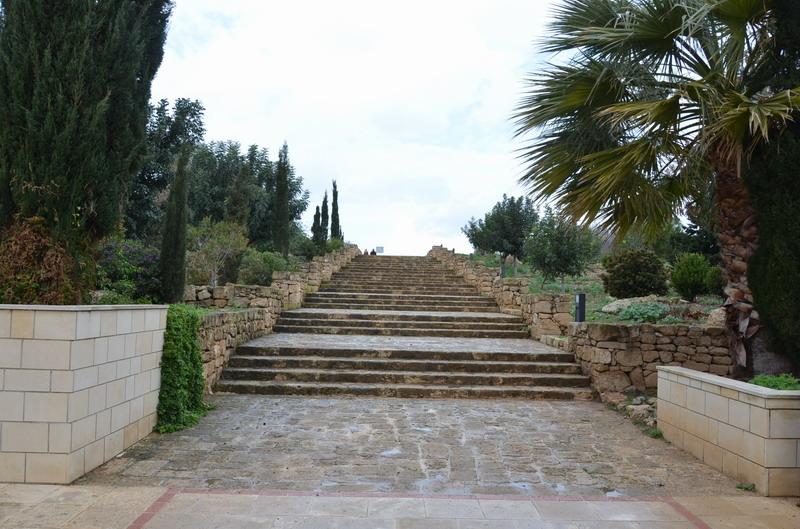 Пафос, вход в археологический парк