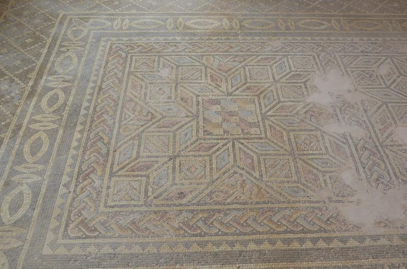 Мозаика на вилле Эона