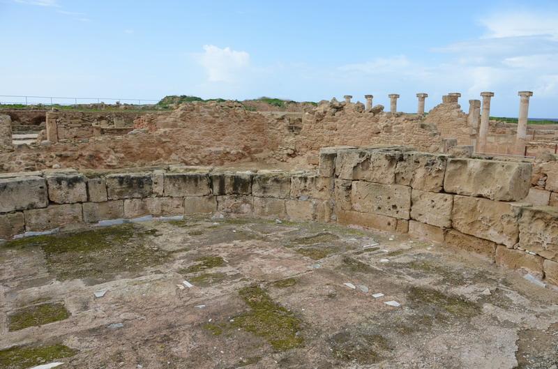 Пафос вилла Орфея бассейн