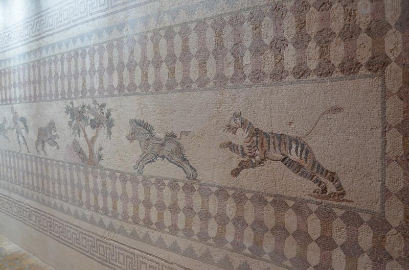 Мозаики со сценами охоты