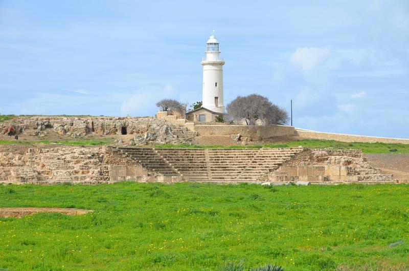 Пафос, Одеон и маяк