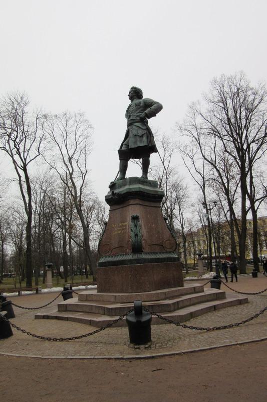 Кронштадт, памятник Петру