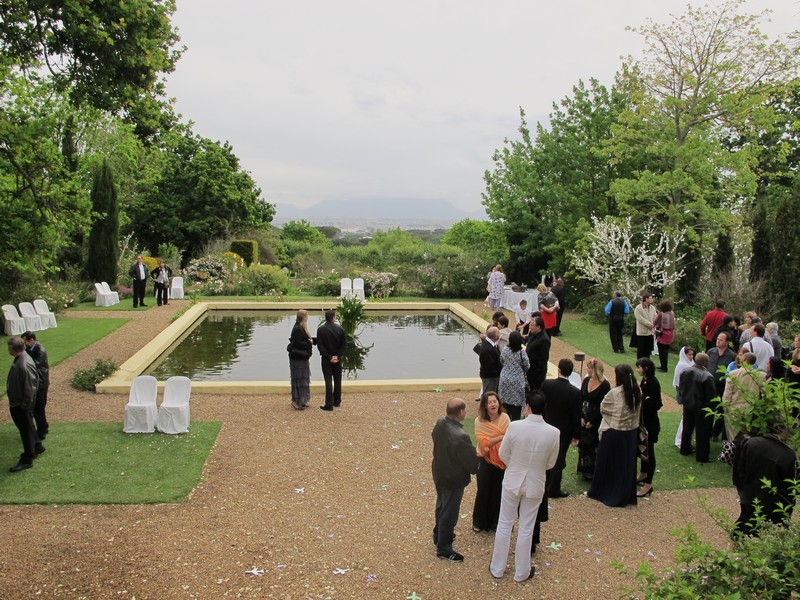 Кейптаун, свадьба