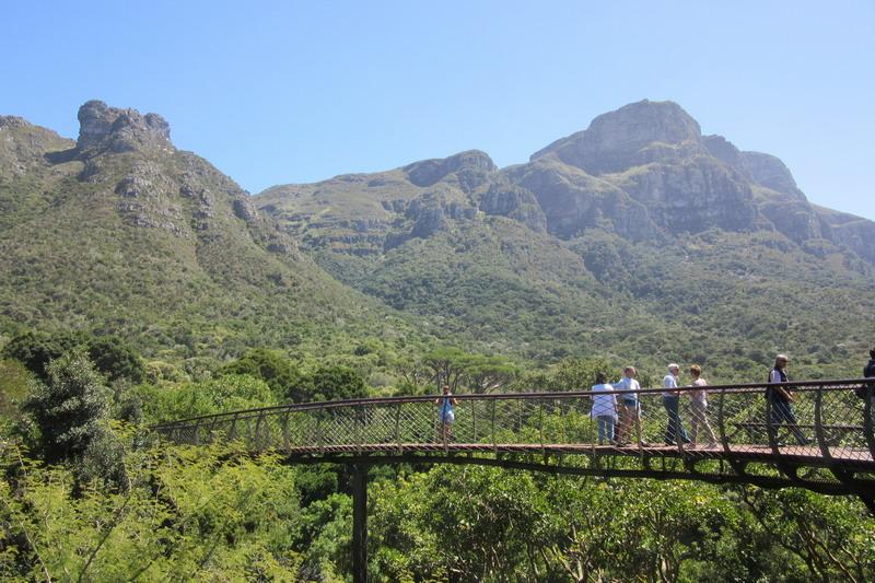 "Кейптаун, ботанический сад ""Кирстенбош"""