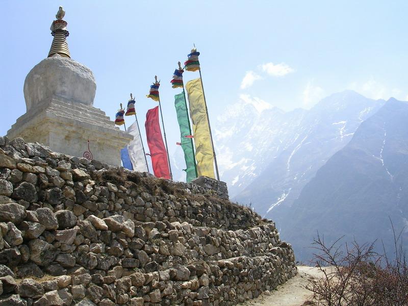Непал, буддийская ступа