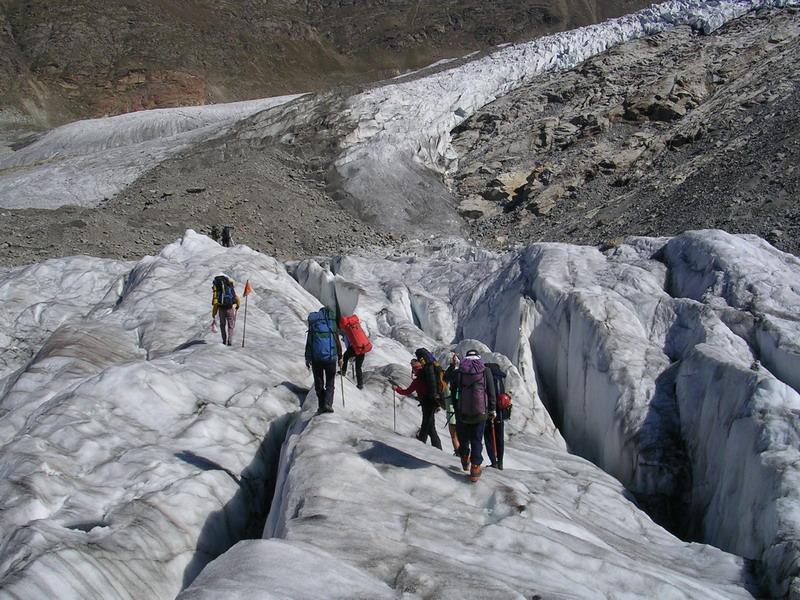 Альпы, ледник